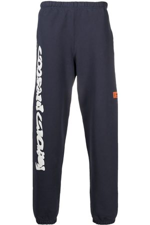 Heron Preston SWEATPANTS HP WARPED ANTHRACITE WHITE