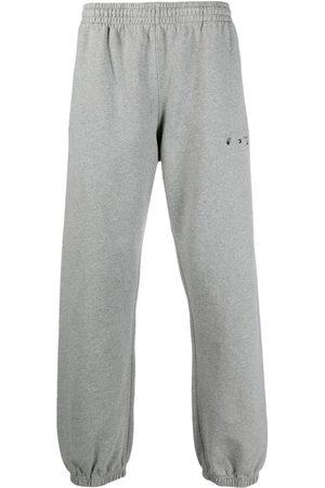 OFF-WHITE Arrow logo slim track pants - Grey