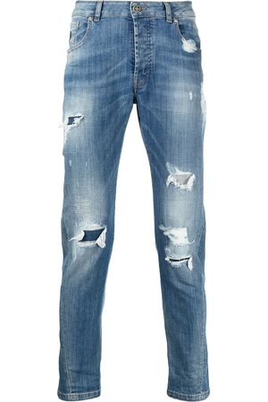 John Richmond Mick distressed slim-fit jeans