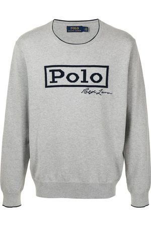 Polo Ralph Lauren Men Sweatshirts - Logo-print sweatshirt - Grey