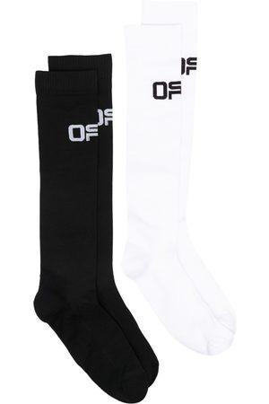 OFF-WHITE Active BiPack knee-high socks