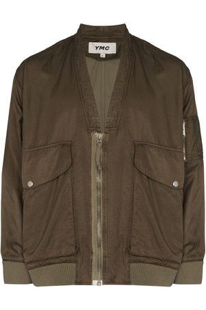 YMC V-neck bomber jacket