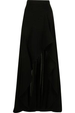 Elie saab Front-slit high-waisted skirt