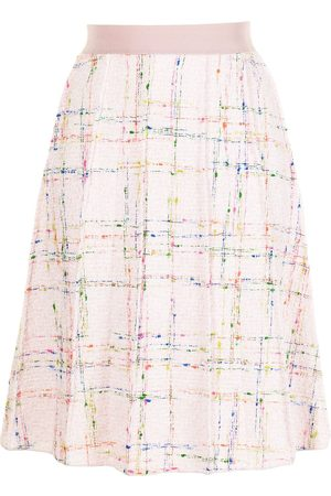 Giambattista Valli Tweed pleated midi skirt