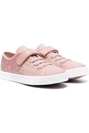 Geox Ciak leather toecap sneakers