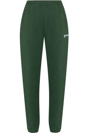 DANIELLE GUIZIO Women Sweatpants - Logo-embroidered track pants