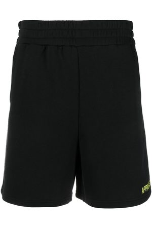 Apparis Julianna embroidered logo track shorts