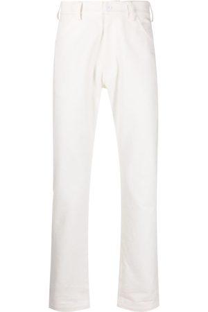 Anglozine Slim-cut denim jeans
