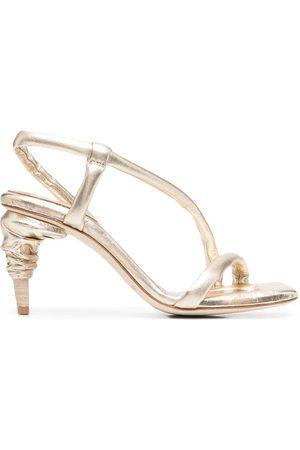 Officine creative Raimonde metallic heeled sandals
