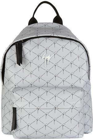 Giuseppe Zanotti Men Rucksacks - Logo zipped backpack