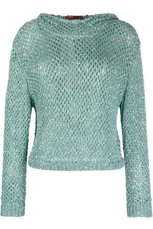 Missoni Open-knit hoodie