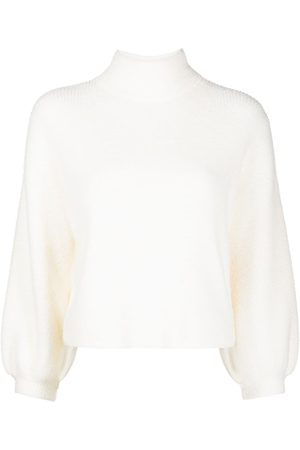 Michelle Mason Mock neck textured jumper