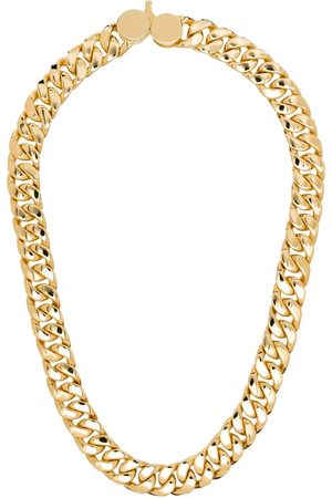 TOM WOOD 9kt -plated chain-link necklace