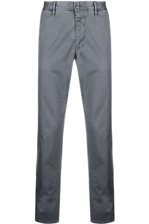 Incotex Slim-cut chino trousers - Grey