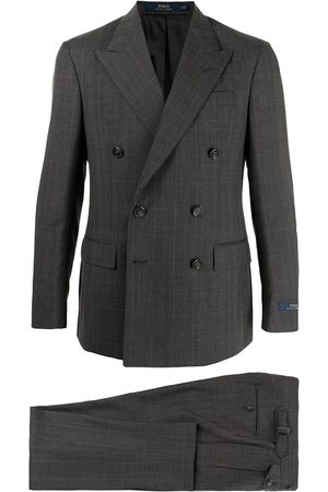 Polo Ralph Lauren Double-breasted tailored blazer - Grey