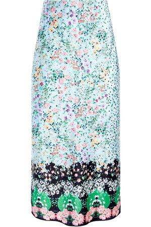 ALICE+OLIVIA Maeve floral-print skirt