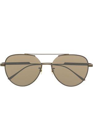 Bottega Veneta Aviators - Aviator-frame tinted sunglasses