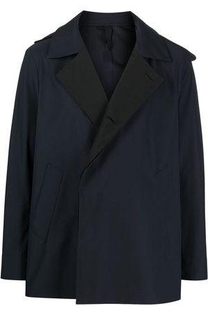 Harris Wharf London Two-tone single-breasted coat