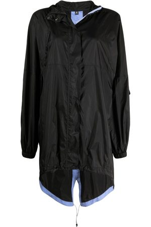 McQ Lightweight hooded raincoat
