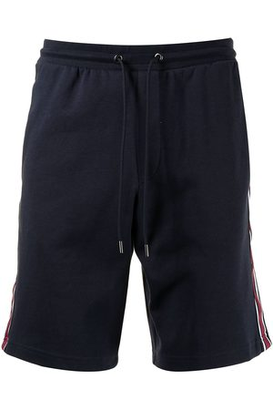 Michael Kors Men Sports Shorts - Side stripe-detail track shorts