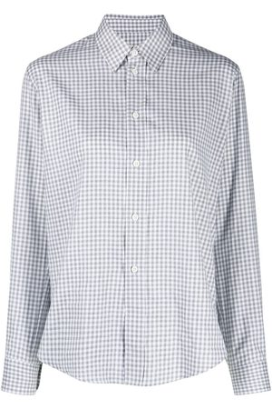 Ami Checked-print shirt
