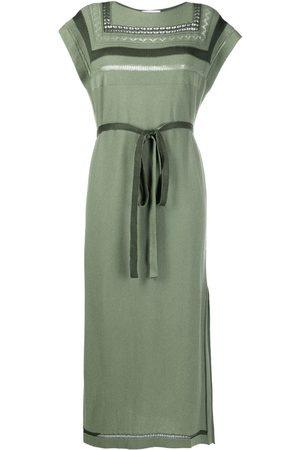 Barrie Knitted shift midi dress
