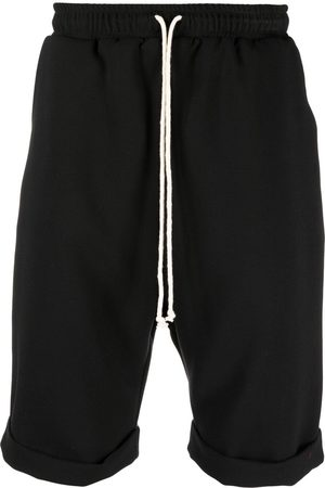 Alchemy Cotton-blend drawstring shorts