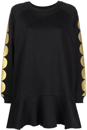 Cynthia Rowley Women Sweatshirts - Sofie ruffled-hem sweatshirt dress