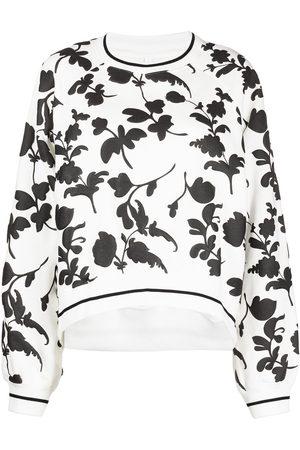 Cynthia Rowley Puff foliage-printed sweatshirt
