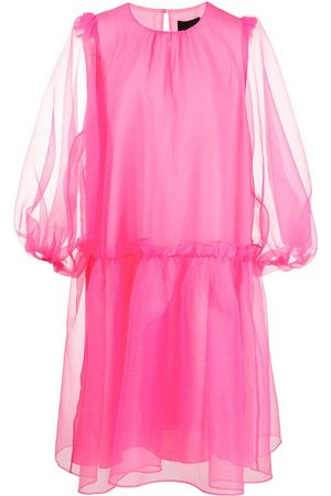 Cynthia Rowley Tullulah organza smock dress