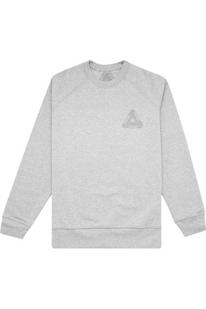 PALACE 3M crew-neck sweatshirt - Grey