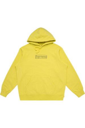 Supreme Men Hoodies - Kaws Chalk Logo hoodie