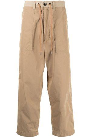 Fumito Ganryu Drawstring-waist trousers