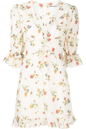 Reformation Laurelei floral-print dress