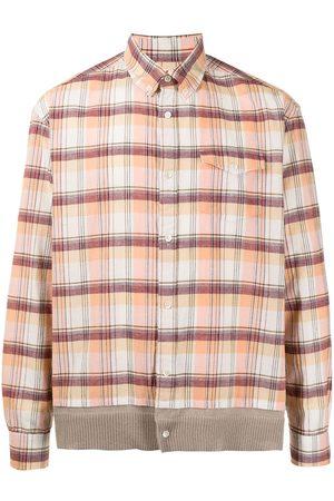 UNDERCOVER Check-print button-down shirt