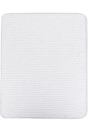 KNOT Lacy organic cotton blanket - Grey