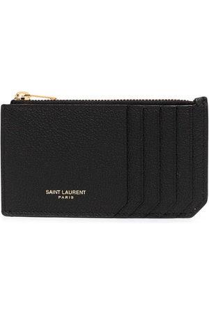Saint Laurent Fragments compact wallet
