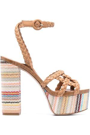 LE SILLA Alyssa platform sandals - Neutrals