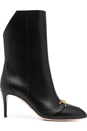 Gucci Chain-link detail boots