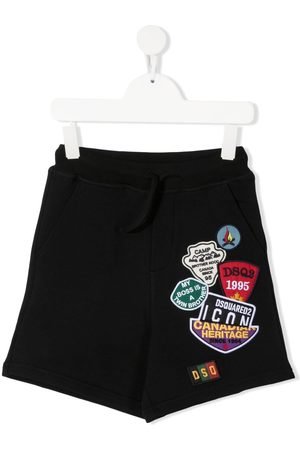 Dsquared2 Multi-patch detailed shorts