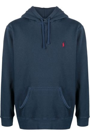 Polo Ralph Lauren Men Hoodies - Logo-embroidered hoodie