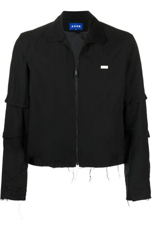 Ader Error Logo-patch zip-up jacket