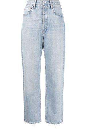 AGOLDE Straight-leg organic cotton jeans