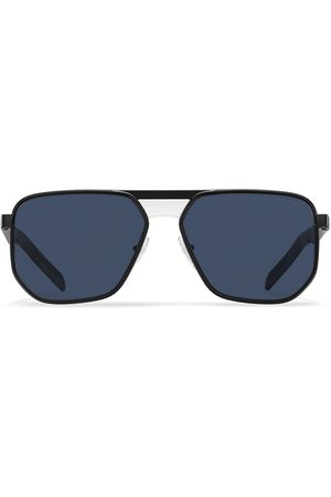Prada Aviator-frame tinted sunglasses
