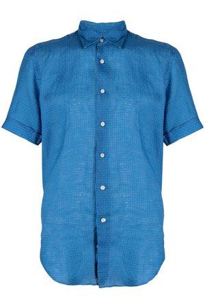 PENINSULA SWIMWEAR Geometric print shirt