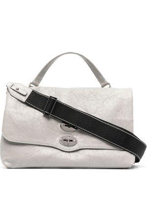 Zanellato Postina leather crossbody bag - Grey