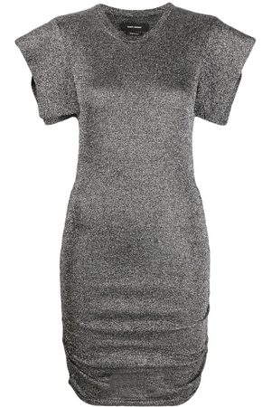 Isabel Marant Marthe metallized dress