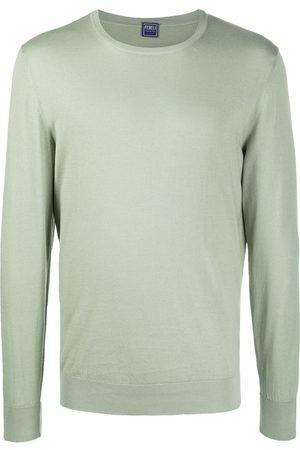 FEDELI Crew neck knitted sweatshirt