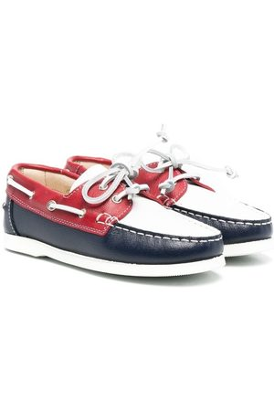 MONTELPARE TRADITION Boys Loafers - Colour-block loafers