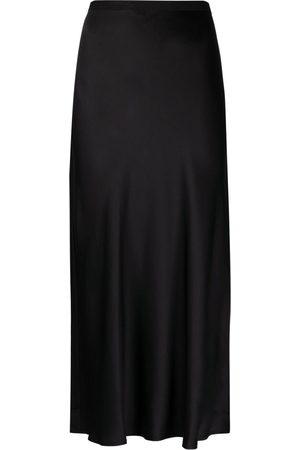 ANINE BING Women Pencil Skirts - Bar fluted silk skirt